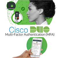 Адаптивна багатофакторна аутентифікація Cisco Duo (MFA)