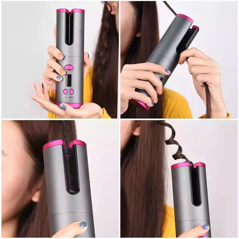 Беспроводной стайлер для завивки волос Ramindong Hair curler RD-060. Авто-бигуди.