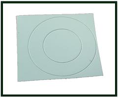 Наклейка защитная для контакты для аккумуляторов 21700
