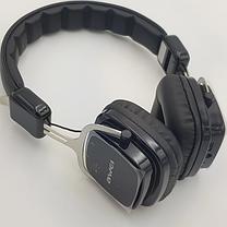 Бездротові Bluetooth-навушники накладні Awei A750BL Black, фото 3