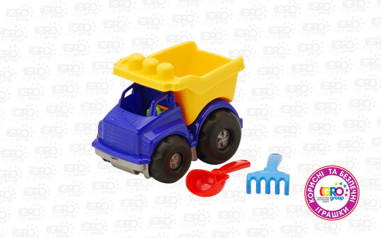 """Машина  """"Тотошка""""  самоскид №1 (машина,лопата,грабельки) (DS)"""