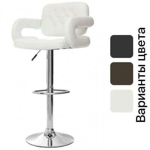 "Барный стул HOKER VIA  с Подставкой для ног(120 кг нагрузка)БЕЛЫЙ ""Барний стілець"