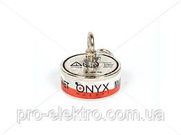 """Поисковый неодимовый магнит двухсторонний """"Onyx-magnet"""" F 300x2 (сила 400 кг) N52"""