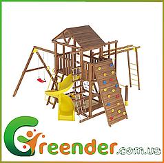 Детский игровой комплекс для улицы Горка Качели Leaf 8