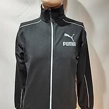 Н. S Чоловічий спортивний костюм Весна-Осінь Puma (Пума) чорний останній залишився