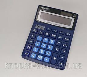 Калькулятор ASSISTANT АС-2332 (dark blue)