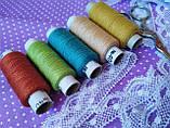 Набір швейних ниток мікс 5шт., фото 2