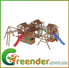 Детские горки качели для детских площадок Leaf 15