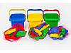 Пісочний набір для малюків, 6 предметів, пасочки, іграшки для пісочниці