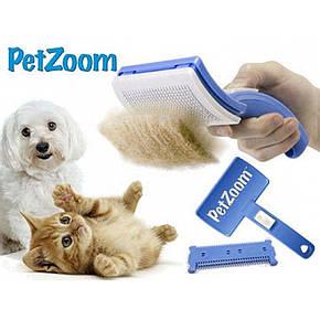 Гребінець для вовни тварин Pet Zoom.., фото 2