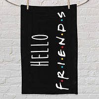 Полотенце Hello friends 80х50 см (PLM_21M035)