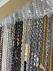 Штори нитки Спіральки Веселка №1+7+207, 3х3 м, фото 2
