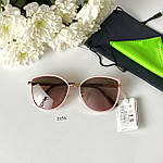 Модные солнцезащитные очки в розовой оправе, фото 3