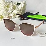 Модные солнцезащитные очки в розовой оправе, фото 4