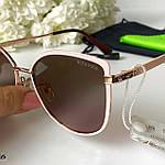 Модные солнцезащитные очки в розовой оправе, фото 5