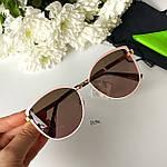 Модные солнцезащитные очки в розовой оправе, фото 6