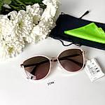 Модные солнцезащитные очки в розовой оправе, фото 7