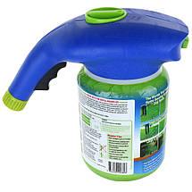Жидкий газон Hydro Mousse Liquid Lawn 2 в 1 + распылитель для гидропосева, фото 3