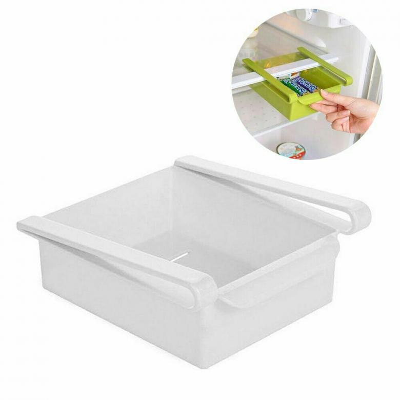 Додатковий підвісний контейнер для холодильника і вдома NBZ Refrigerator Multifunctional Storage Box White