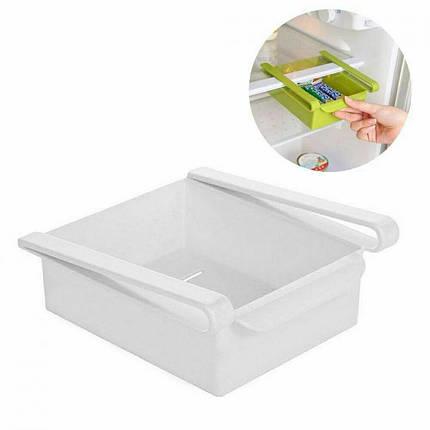 Додатковий підвісний контейнер для холодильника і вдома NBZ Refrigerator Multifunctional Storage Box White, фото 2