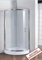 Душевая кабина SANTEH Fabric 9014-F 90х90 низкий поддон, матовое стекло