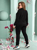 Лаконичный женский костюм в спортивном стиле с 48 по 54 размер, фото 4
