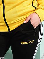 Стильний спортивний костюм з лампасами з 48 до 54 розмір, фото 8