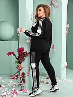 Стильний спортивний костюм з лампасами з 48 до 54 розмір, фото 4