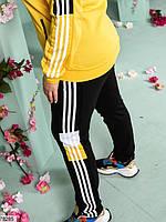 Стильний спортивний костюм з лампасами з 48 до 54 розмір, фото 7