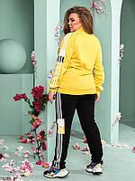 Стильний спортивний костюм з лампасами з 48 до 54 розмір, фото 5