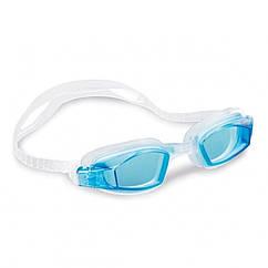 Окуляри для плавання Intex 55682 розмір L (Блакитні)