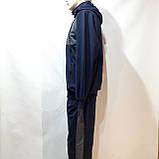 Чоловічий спортивний костюм (Великих розмірів) Весна-Осінь, фото 6
