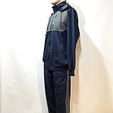 Чоловічий спортивний костюм (Великих розмірів) Весна-Осінь, фото 4