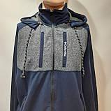 Чоловічий спортивний костюм (Великих розмірів) Весна-Осінь, фото 2