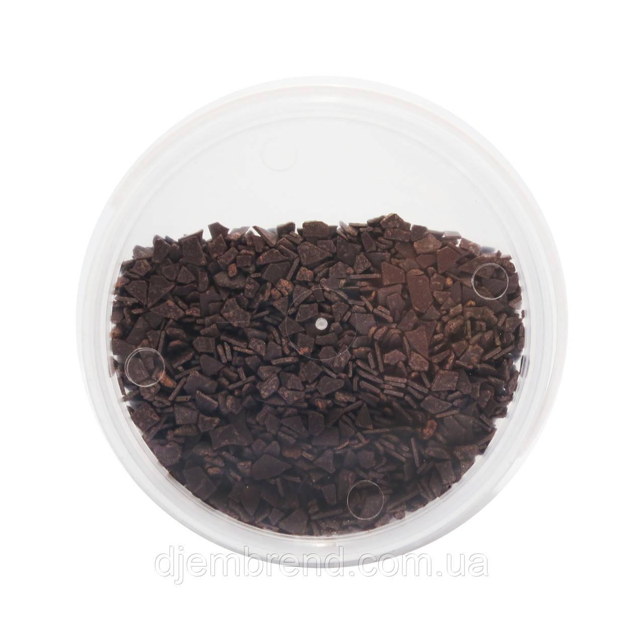 Шоколадные осколки черные, 500 г