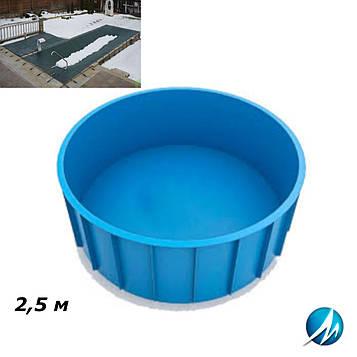 Зимовий накриття для поліпропіленового басейну 2,5 м
