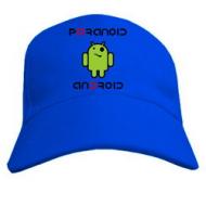Рок молодёжная бейсболка кепка с Paranoid android
