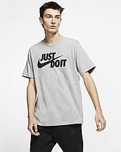 Футболка мужская Nike Nsw Just Do It AR5006-063 Серый
