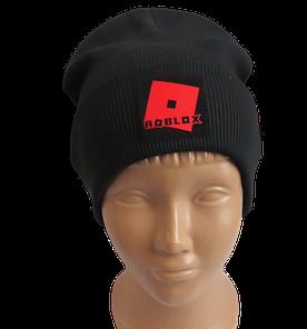 Молодежная весенняя хлопковая шапка Fero с логотипом, черная
