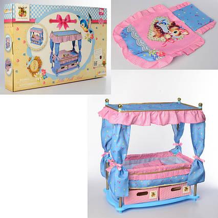 Ліжко - комод для ляльки Hauck арт. 90421
