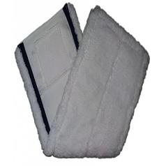 Моп плоский из микрофибры White Sail UltraSpeed насадка на швабру 40 см подходит к Vileda