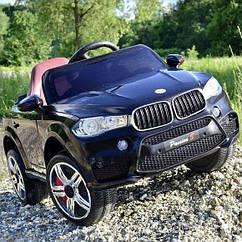 Дитячий електромобіль джип BMW FL 1538 Чорний