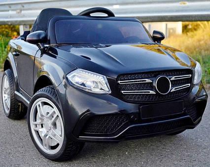Детский электромобиль джип FL 1558 EVA Mercedes Черный