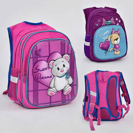 Рюкзак школьный N 00229 (36) 2 вида, 3 кармана