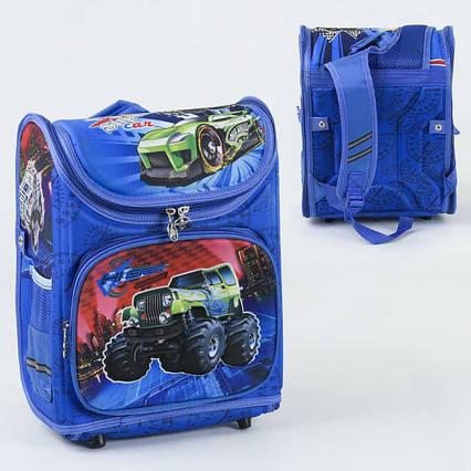 Рюкзак школьный каркасный С 36174 1 отделение, 3 кармана
