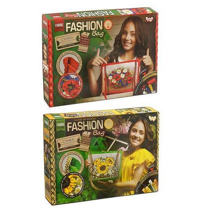 "Вышивка-сумка лентами ""Fashion Bag"" FBG-01-01,02 (6) ""ДАНКО ТОЙС"", (Украина)"