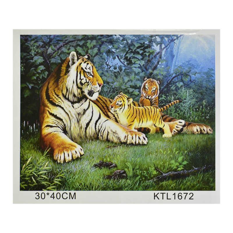 Картина по номерам KTL 1672 в коробке 40х30