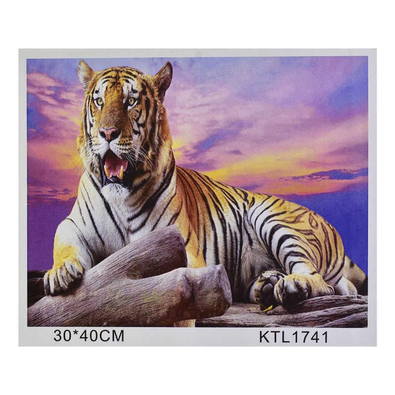 Картина по номерам KTL 1741 в коробке 40х30