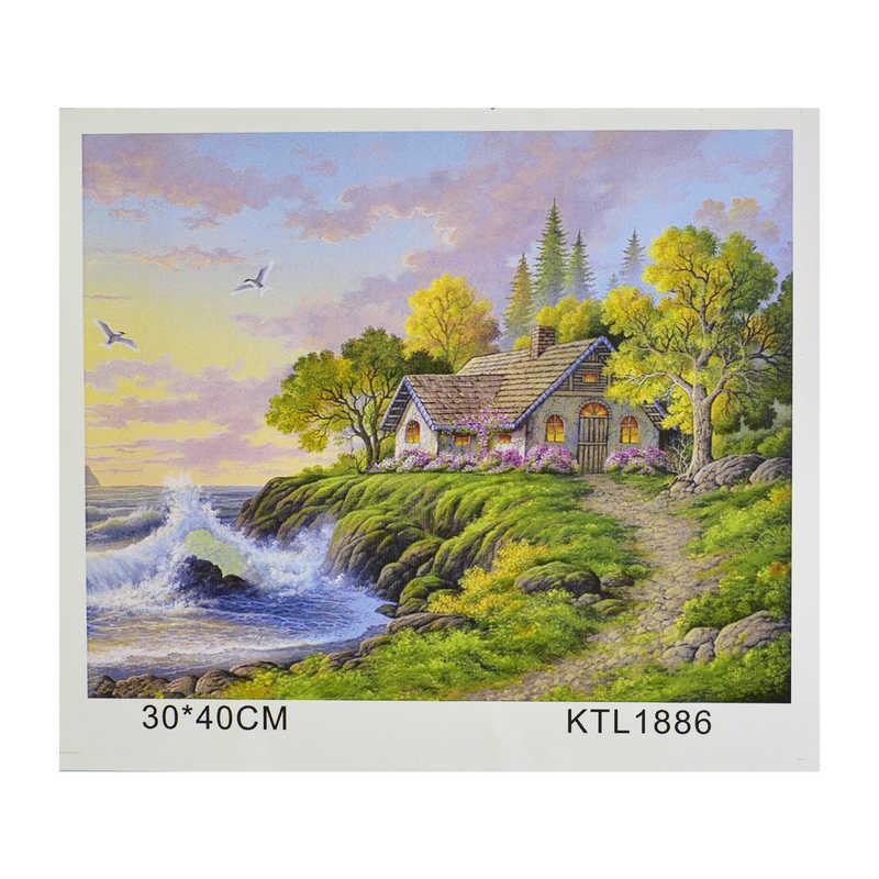 Картина по номерам KTL 1886 в коробке 40х30