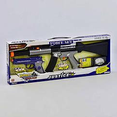 Набір поліцейського 34190 світло, звук, вібрація, в коробці